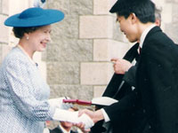 Meeting Queen Elizabeth II